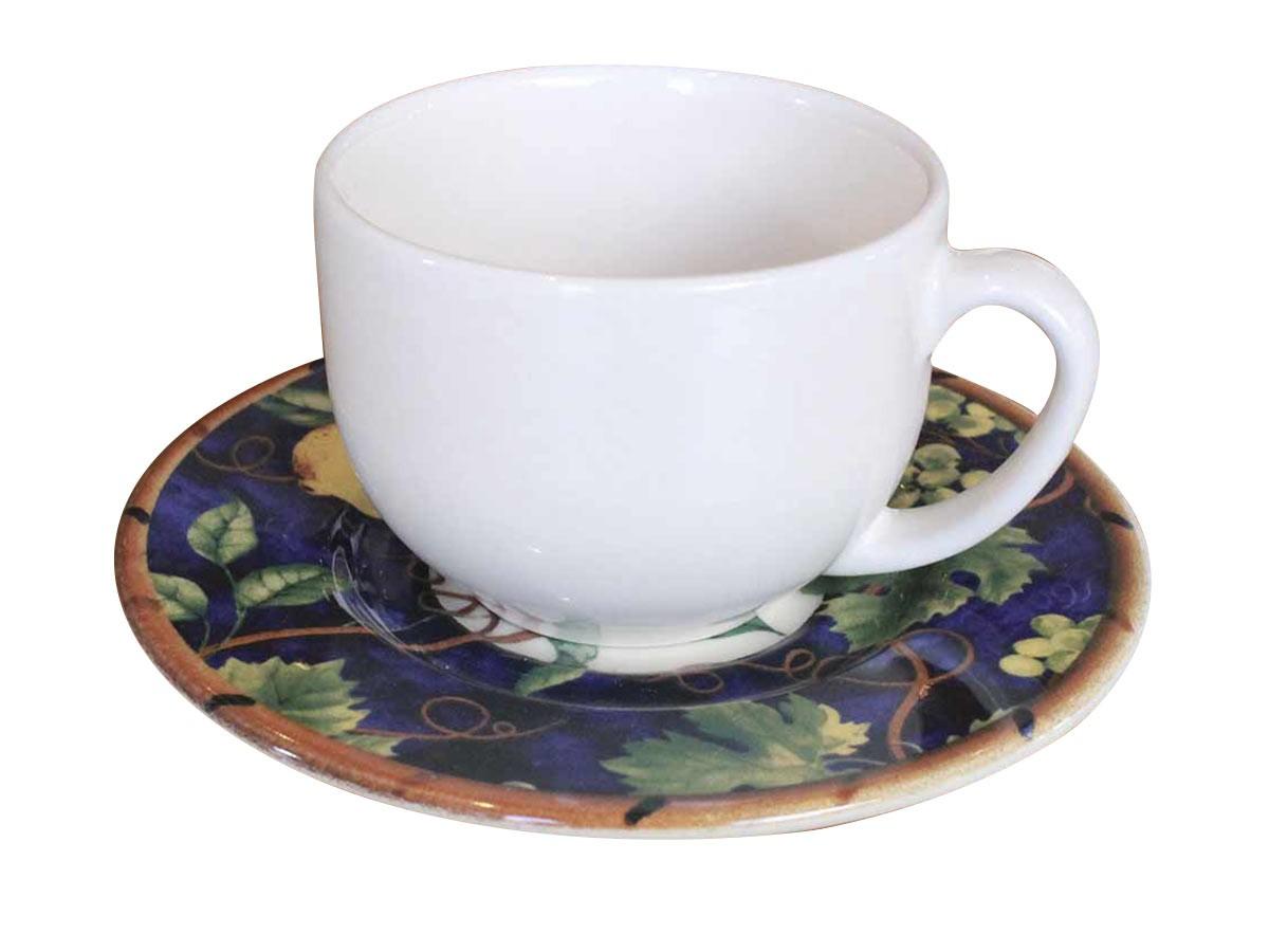 Xícara de Chá Monaco Deruta 1 Linha  - Lemis