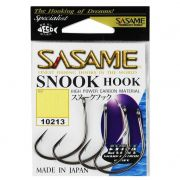 Anzol Japones Snook Hook Black nº 3/0 5 unidades Sasame