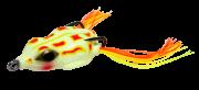 Isca Artificial Crazy Frog 4,5cm Branco 9g Yara