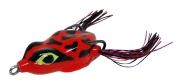 Isca Artificial Crazy Frog 4,5cm Vermelho e Preto 9g Yara