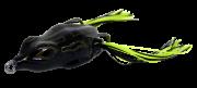 Isca Artificial Crazy Frog 5,5cm Preto 11,5g Yara