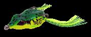Isca Artificial Crazy Frog 5,5cm Verde 11,5g Yara