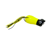 Isca Artificial Crazy Popper 6cm Amarelo e Preto 13g Yara