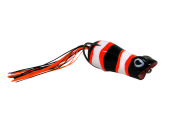 Isca Artificial Crazy Popper 6cm Black Nemo 13g Yara
