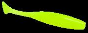 Isca Artificial Paddle Shad Verde Limão 10cm 5 Unidades Yara