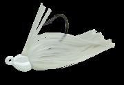 Isca Artificial Rubber Jig 14g Branco Cintilante Yara