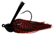 Isca Artificial Rubber Jig 14g Vermelho e Preto Yara