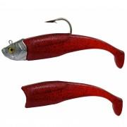 Isca Artificial Shad 400g 21cm Vermelho Kruel