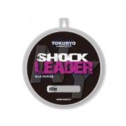 Linha Monofilamento Shock Leader 0.74mm 28kg 50m Tokuryo