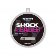 Linha Monofilamento Shock Leader 1,20mm 47kg 50m Tokuryo