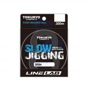 Linha Multifilamento 8 fios 0.38mm PE 5.0 27kg 300m Tokuryo