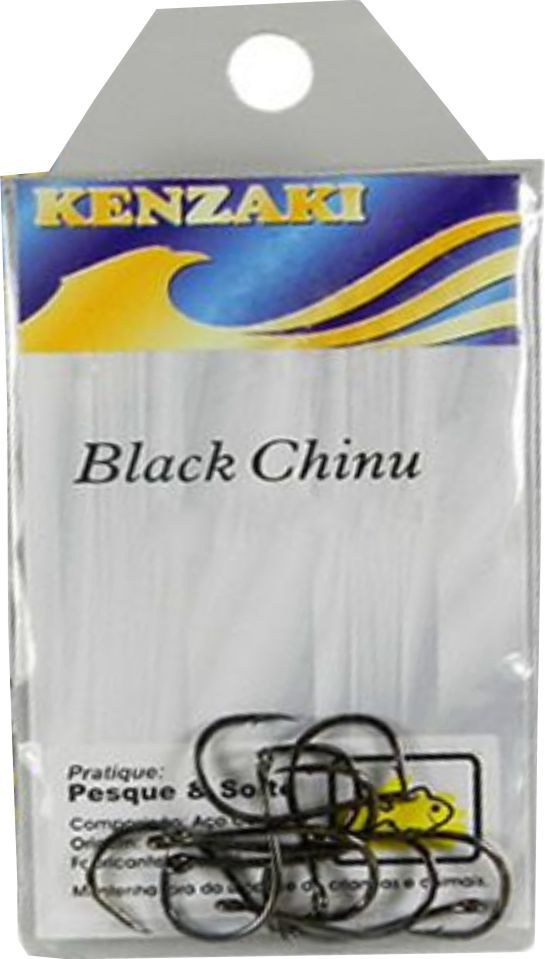 Anzol Black Chinu nº9 10 unidades Kenzaki