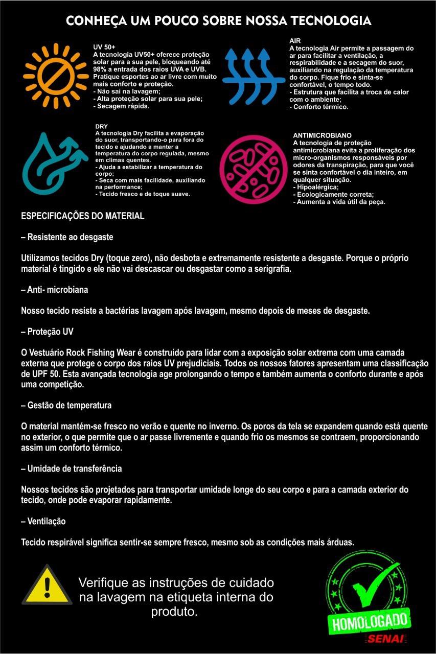 Camisa De Pesca Feminina Cor Rosa e Preto Proteção Solar U V 50+ Lumis - New Model