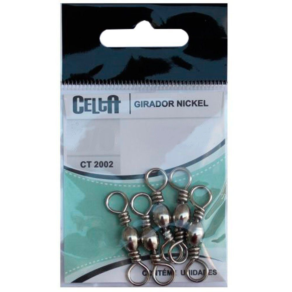 Girador Nickel Simples Nº1 85lb 38,5kg 7 Unidades Celta