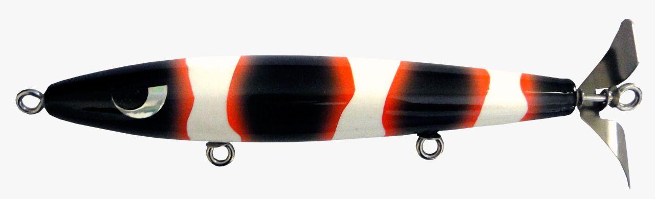Isca Artificial Hélice Devassa 14cm Black Nemo 35g Yara