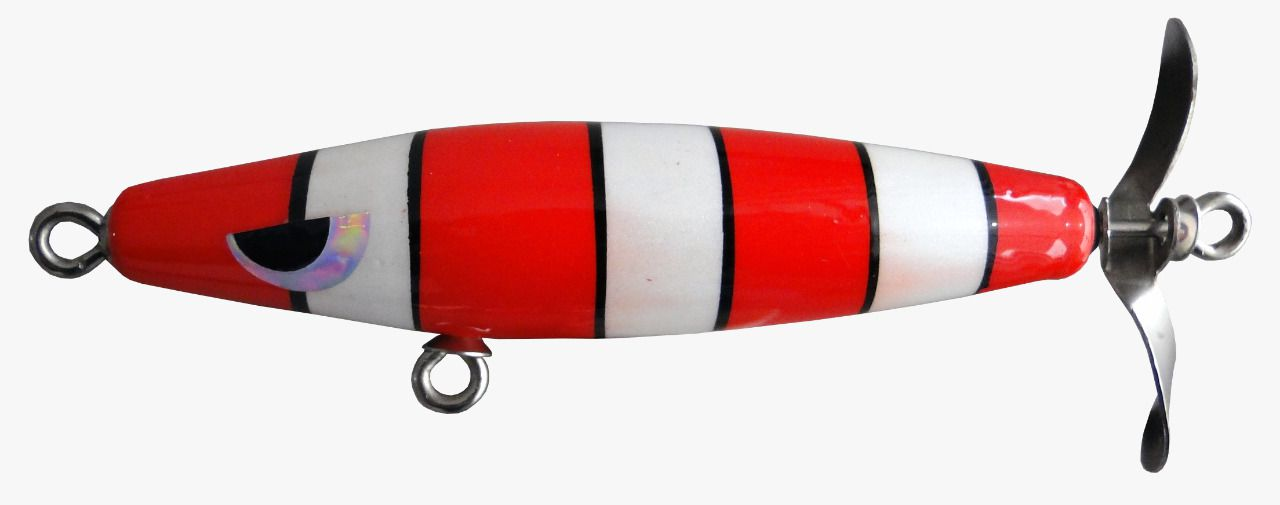 Isca Artificial Hélice Devassa 9cm Cobra Coral 17g Yara