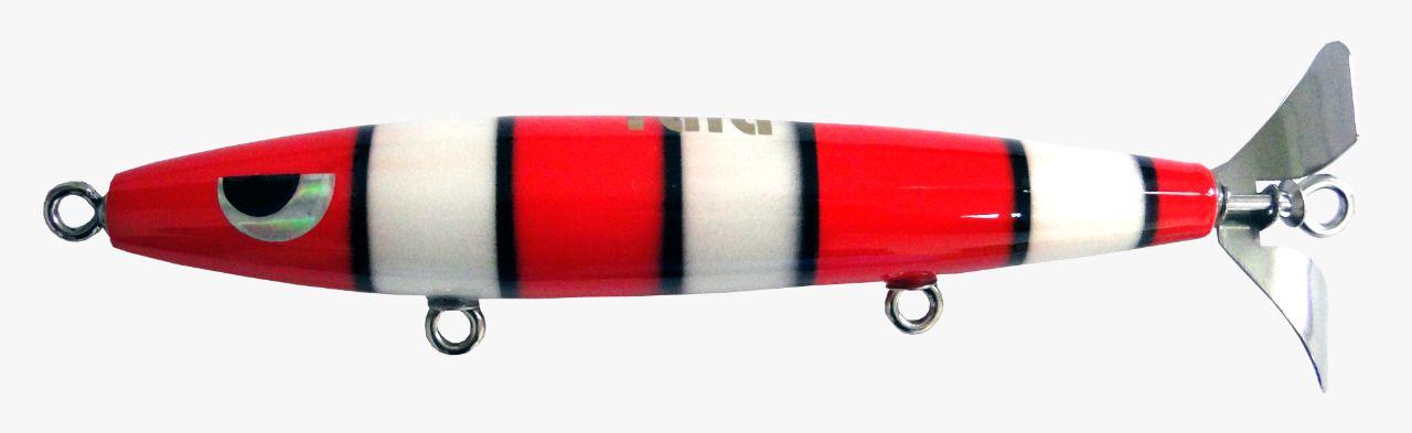 Isca Artificial Hélice Devassa 14cm Cobra Coral 35g Yara