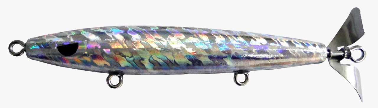 Isca Artificial Hélice Devassa 14cm Holográfica 35g Yara