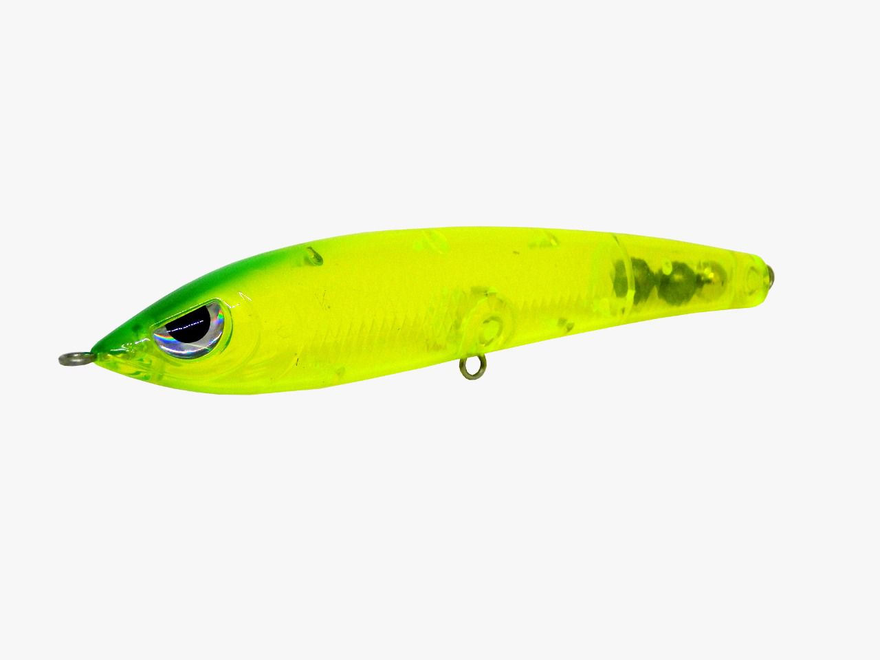 Isca Artificial Hunter Bait 11cm Verde Transparente 14g Yara