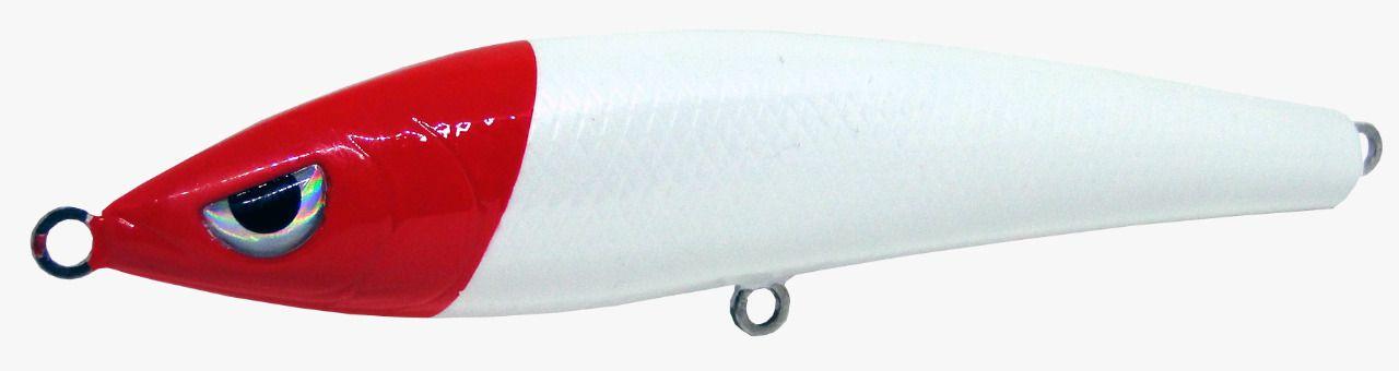 Isca Artificial Hunter Bait 14cm Cabeça Vermelha 32g Yara