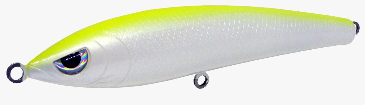 Isca Artificial Hunter Bait 14cm Dorso Verde Limão 32g Yara