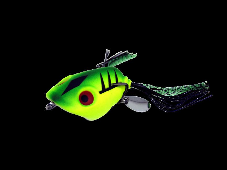 Isca Artificial Jump Frog 4,5cm Verde 9g Yara