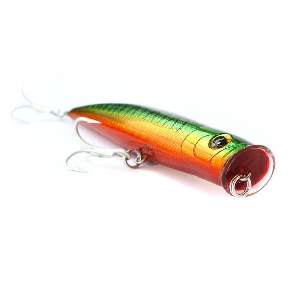 Isca Artificial Popper Rush 52 g 15,5 Cm Cor Fire Tiger Sea Fishing