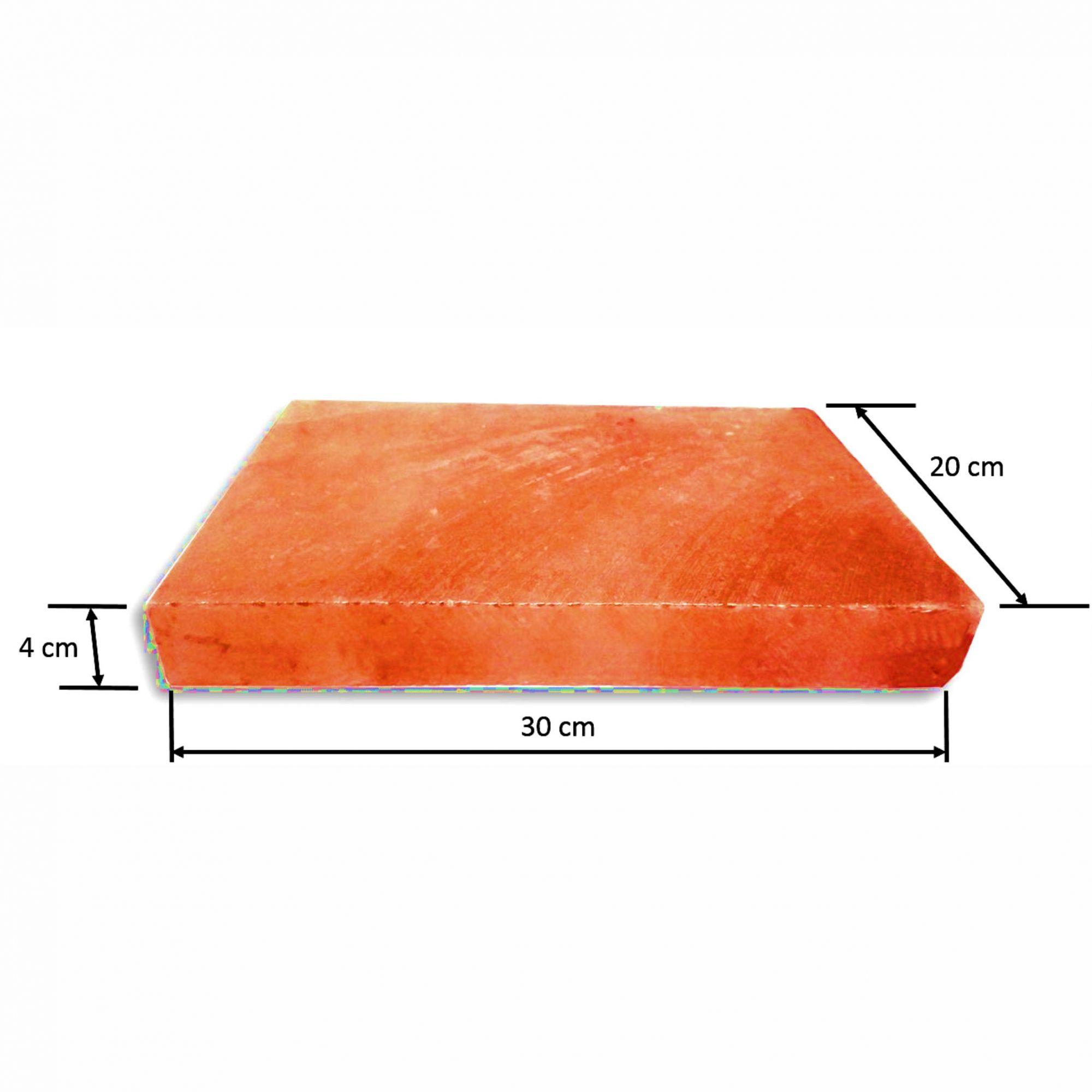 Kit Pedra de Sal Rosa do Himalaia com Faca de Aço Inox 420 TB0946
