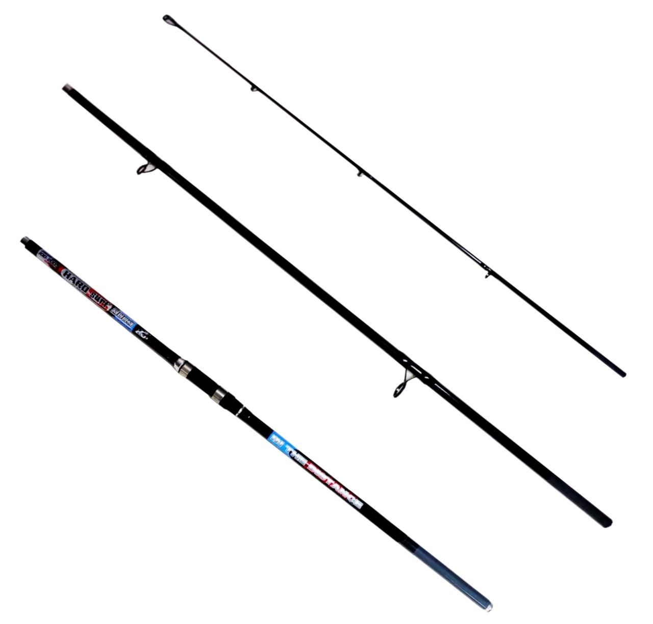 Kit Pesca De Praia Vara 3,60m 50lb, Molinete 5000, Linha