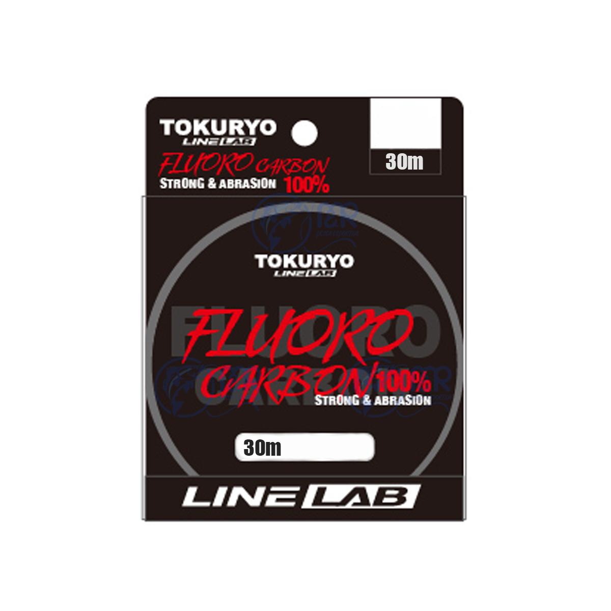 Linha Fluorocarbono 100% 1,02mm 99lb 45kg 30m Tokuryo