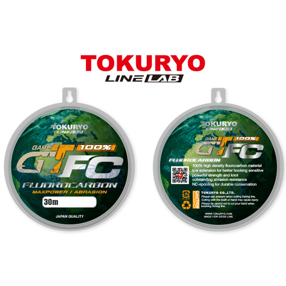 Linha Fluorocarbono GT FC 0,45mm 24lb 11kg 30m Tokuryo