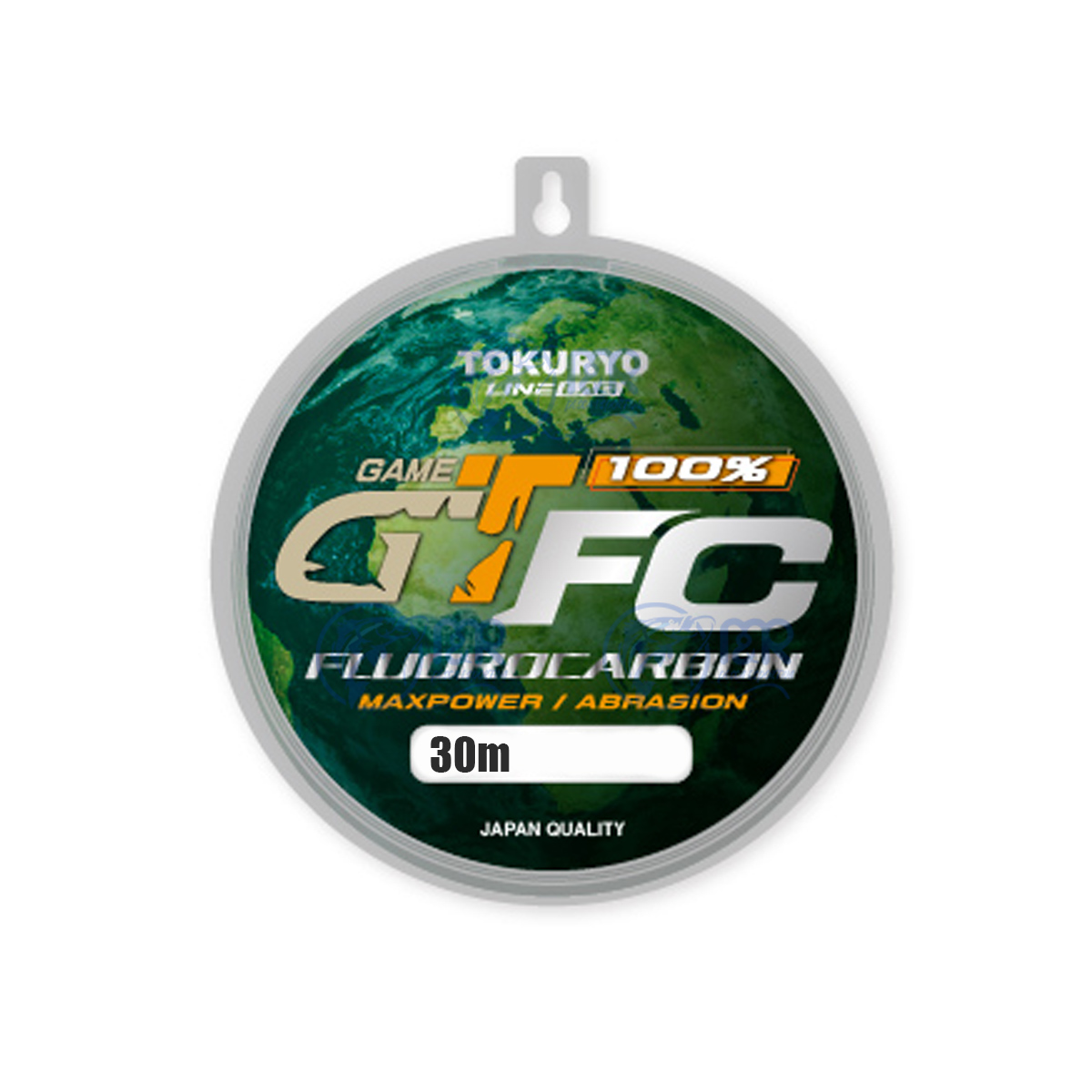 Linha Fluorocarbono GT FC 0,55mm 35lb 16kg 30m Tokuryo