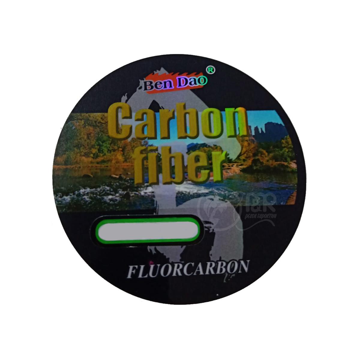 Linha Lider 100% Fluocarbono 0.30mm 24lb (11,1kg) 50m