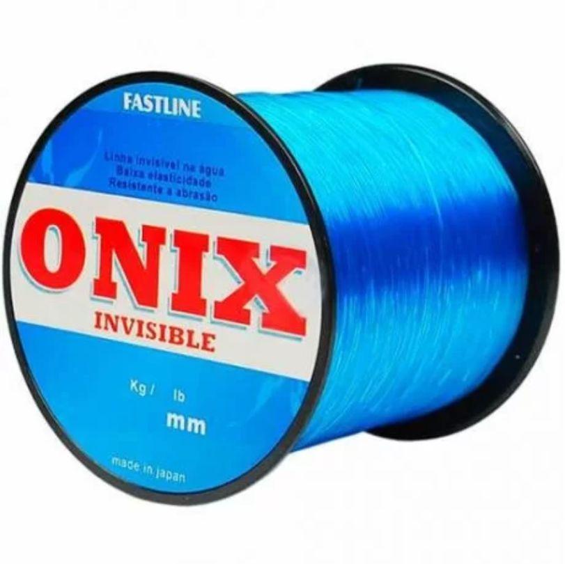 Linha Monofilamento Onix 0,43mm 500mts Fastiline