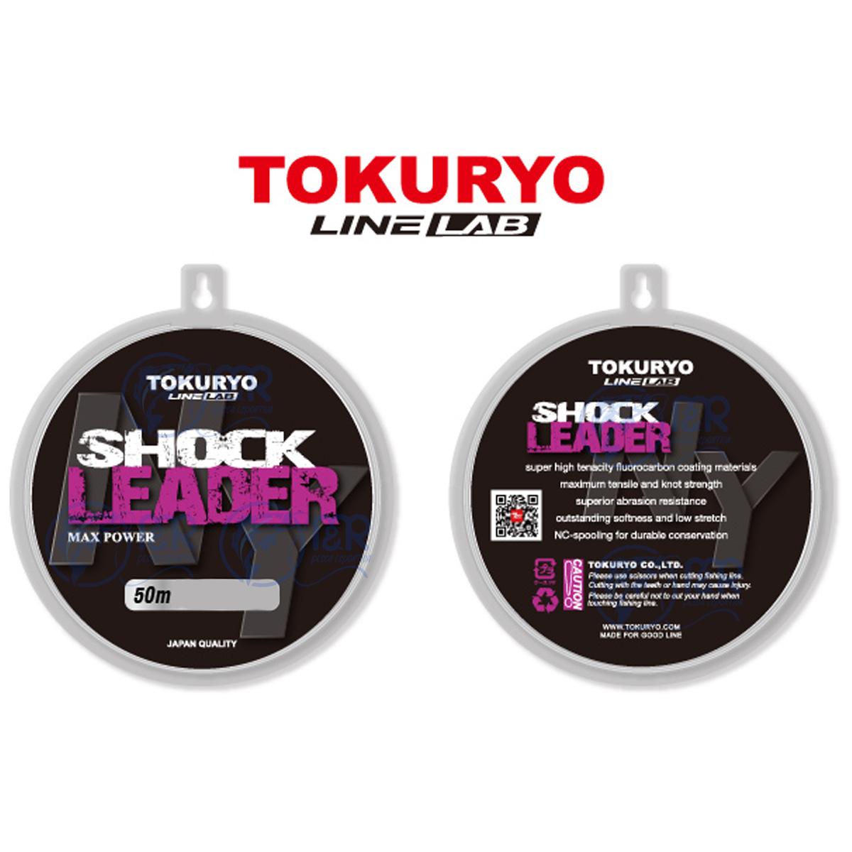 Linha Monofilamento Shock Leader 0.41mm 11kg 50m Tokuryo