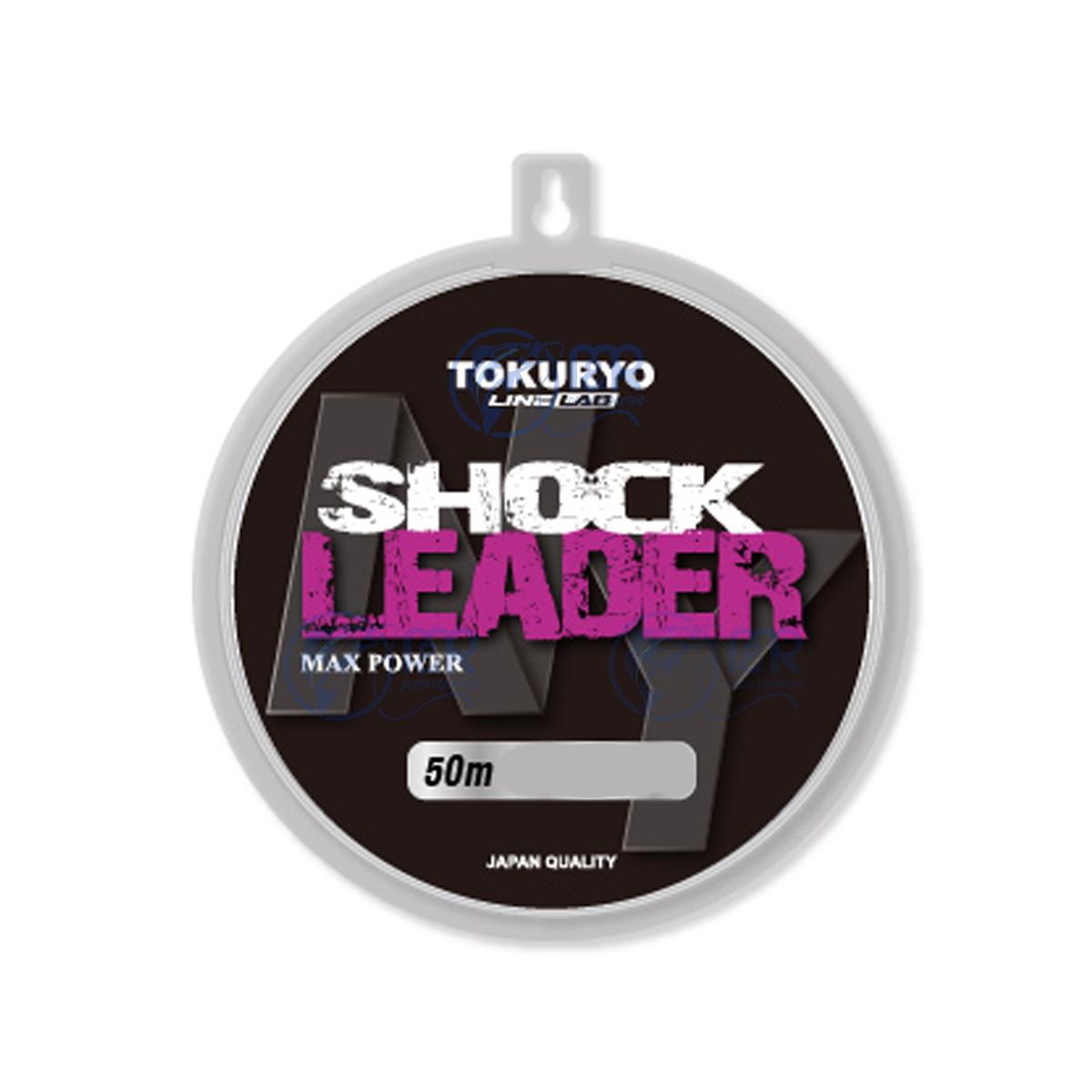 Linha Monofilamento Shock Leader 1,10mm 43kg 50m Tokuryo