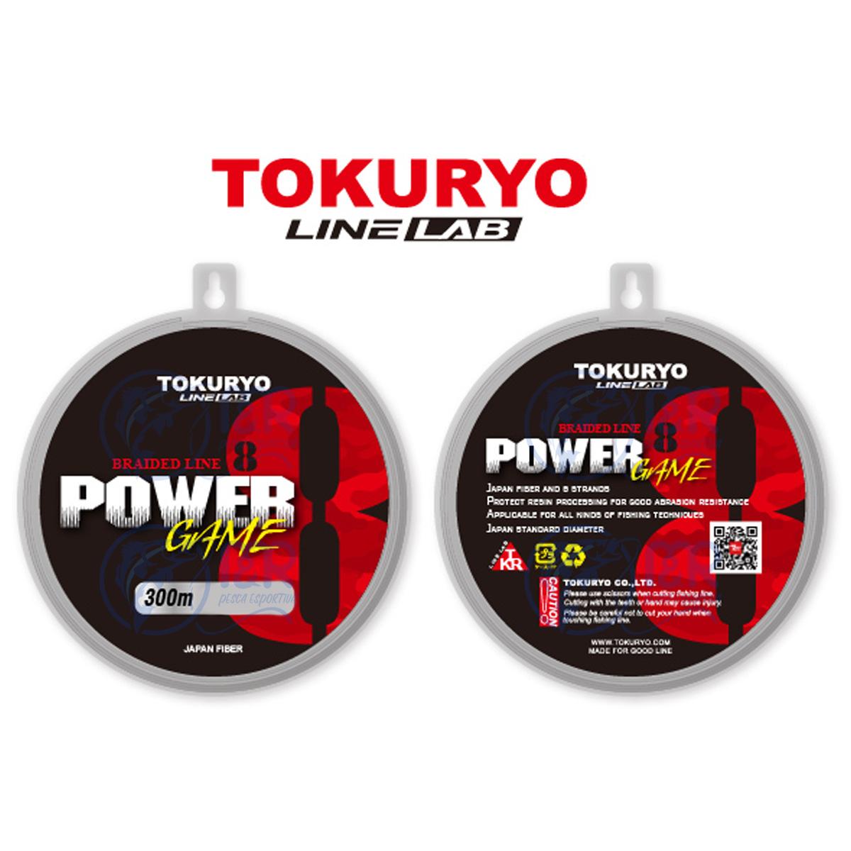 Linha Multifilamento 8 fios 0.34mm PE 4.0 18kg 150m Tokuryo