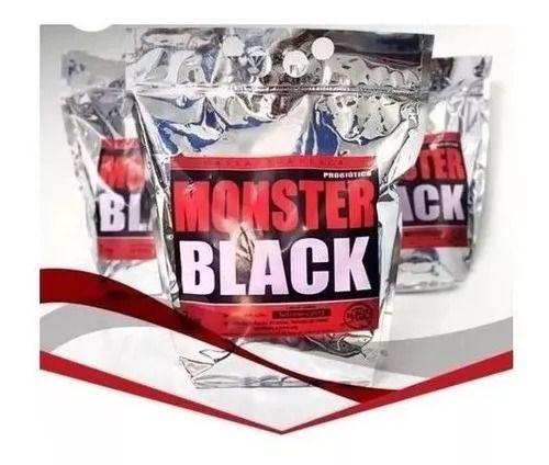 Massa Para Pesca Monster Black Probiótico 800g Black Fish