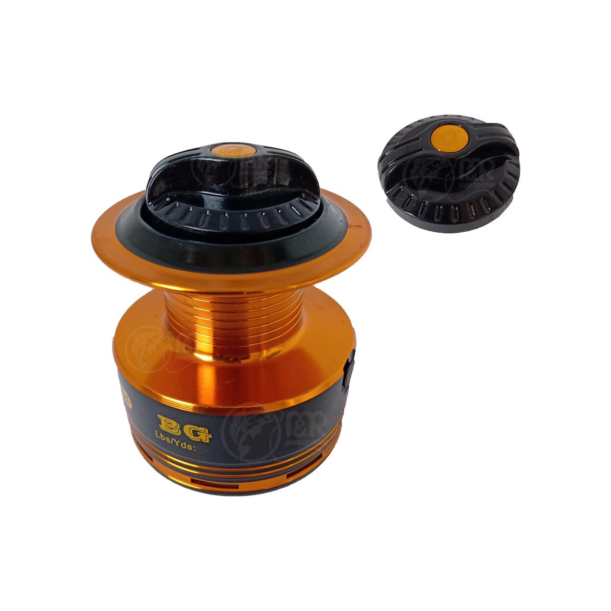 Molinete 2000 BG 10+1 Rolamento Carretel Alumínio Drag 2,5kg