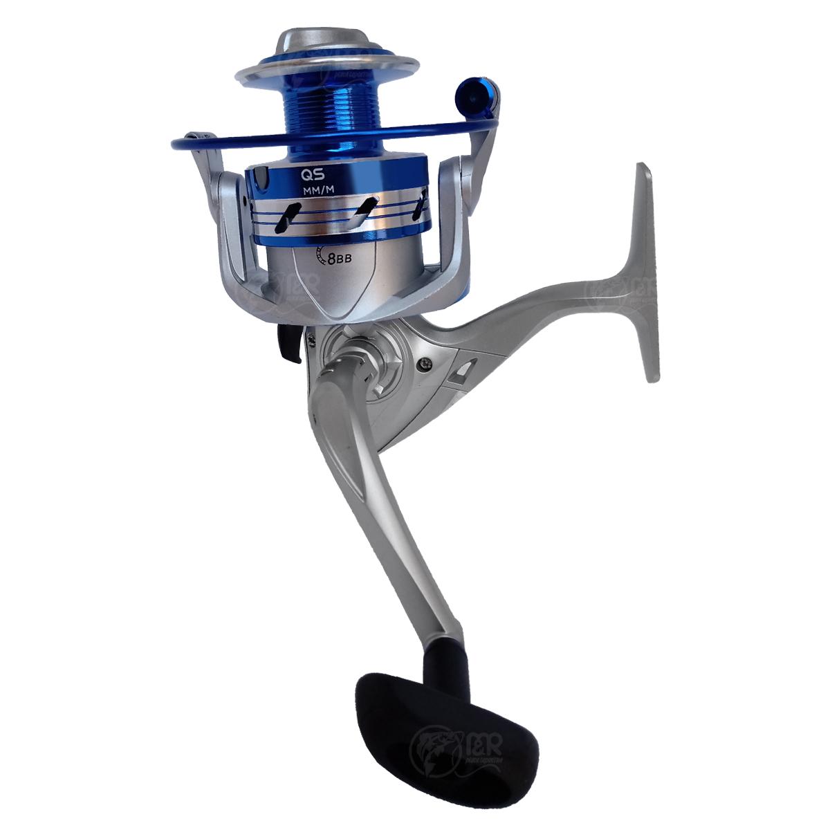 Molinete 5000A QS 8 Rolamentos Carretel Alumínio Drag 5,5kg