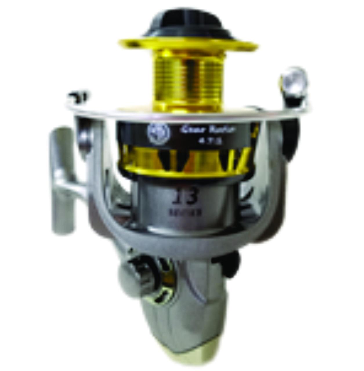 Molinete 7500 HO 13 Rolamentos Carretel Alumínio Drag 7,5kg