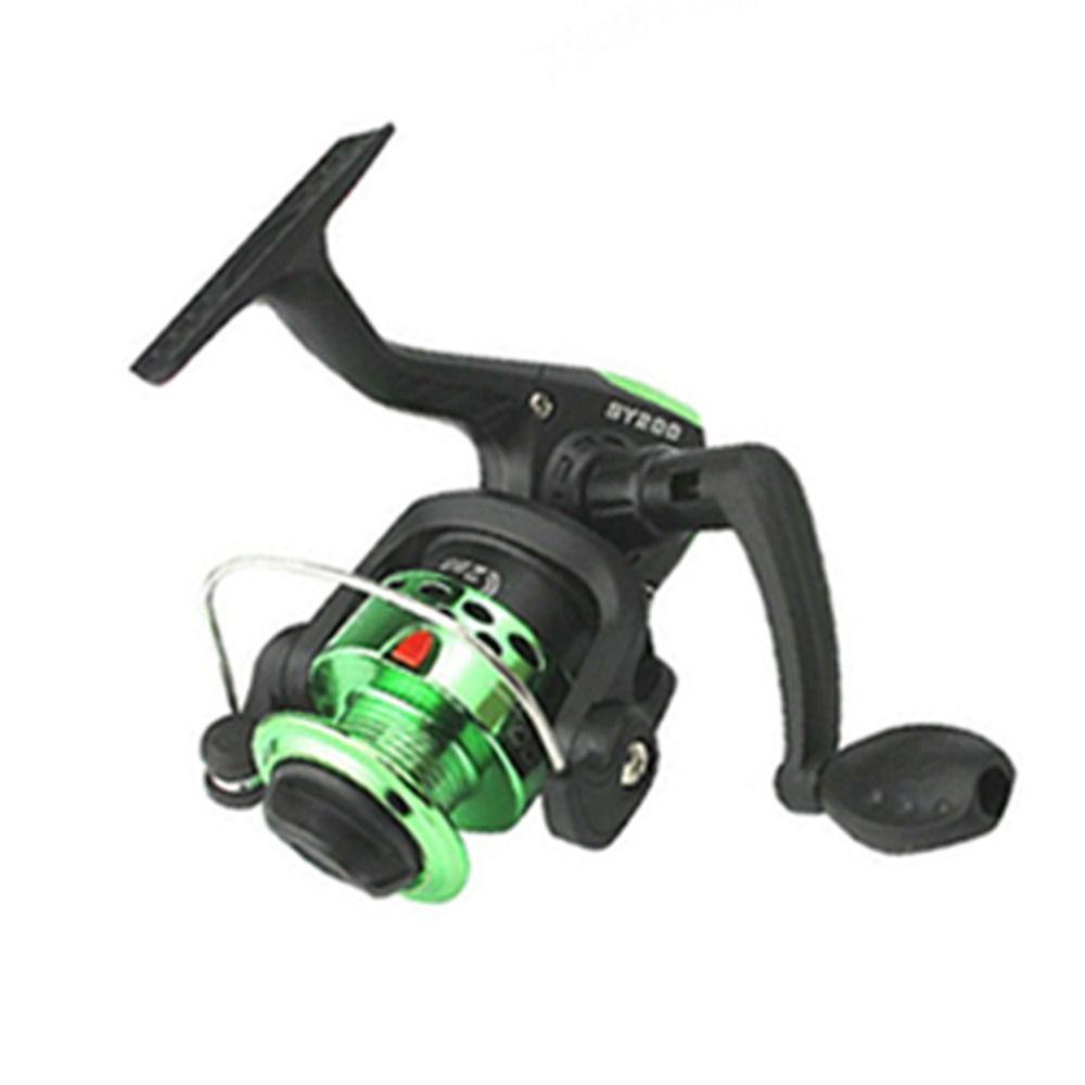 molinete Para Pesca Sy200 Importado Cor Verde
