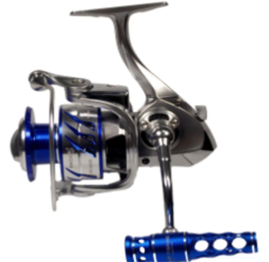 Molinete  Raven 4000 11 rolamentos  Drag 12kg Sea Fishing Salt Water (2 manilvelas)