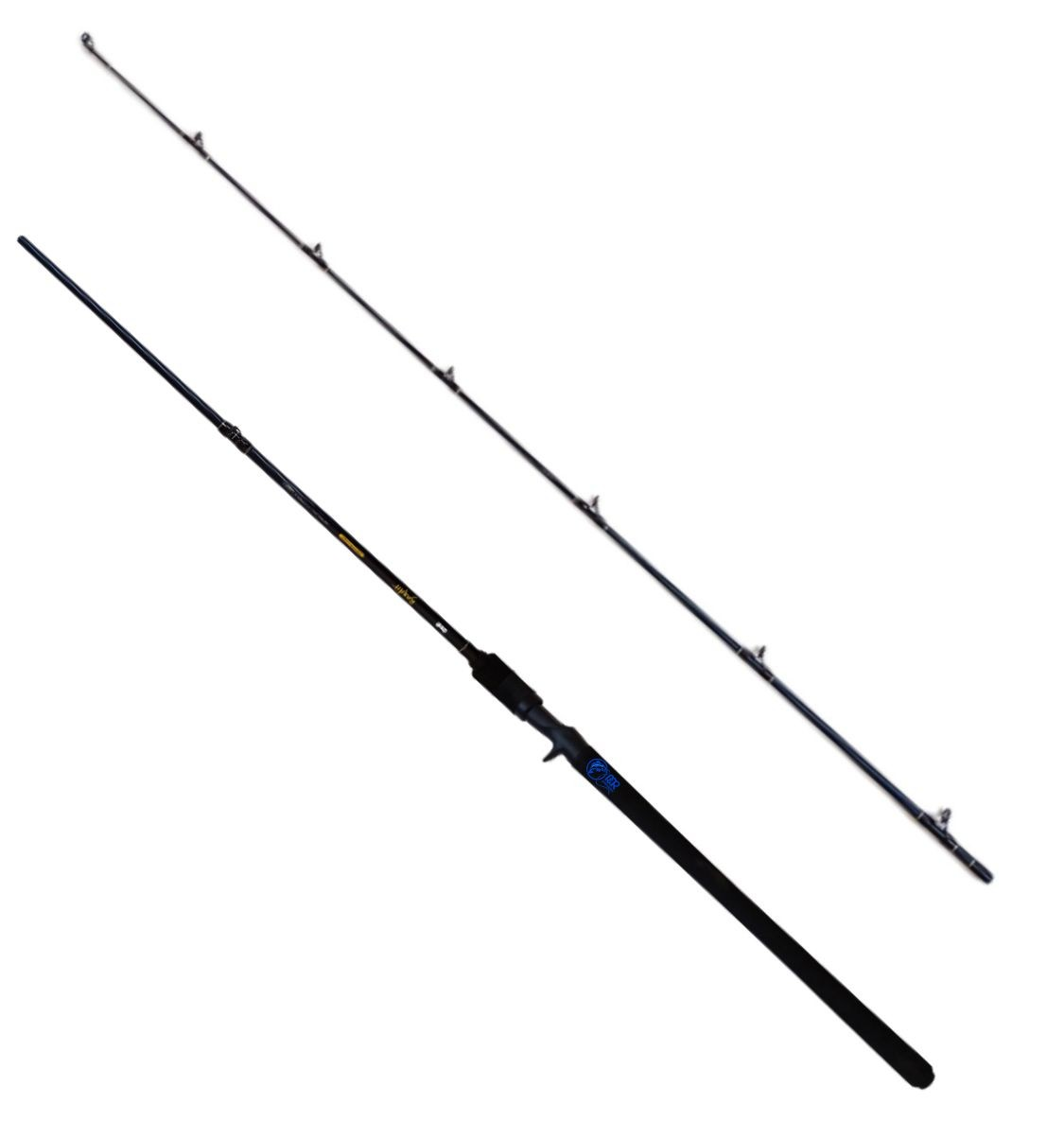 Vara Carretilha Bandit Power Cast 2.44m 15-50b 2 Parte Celta