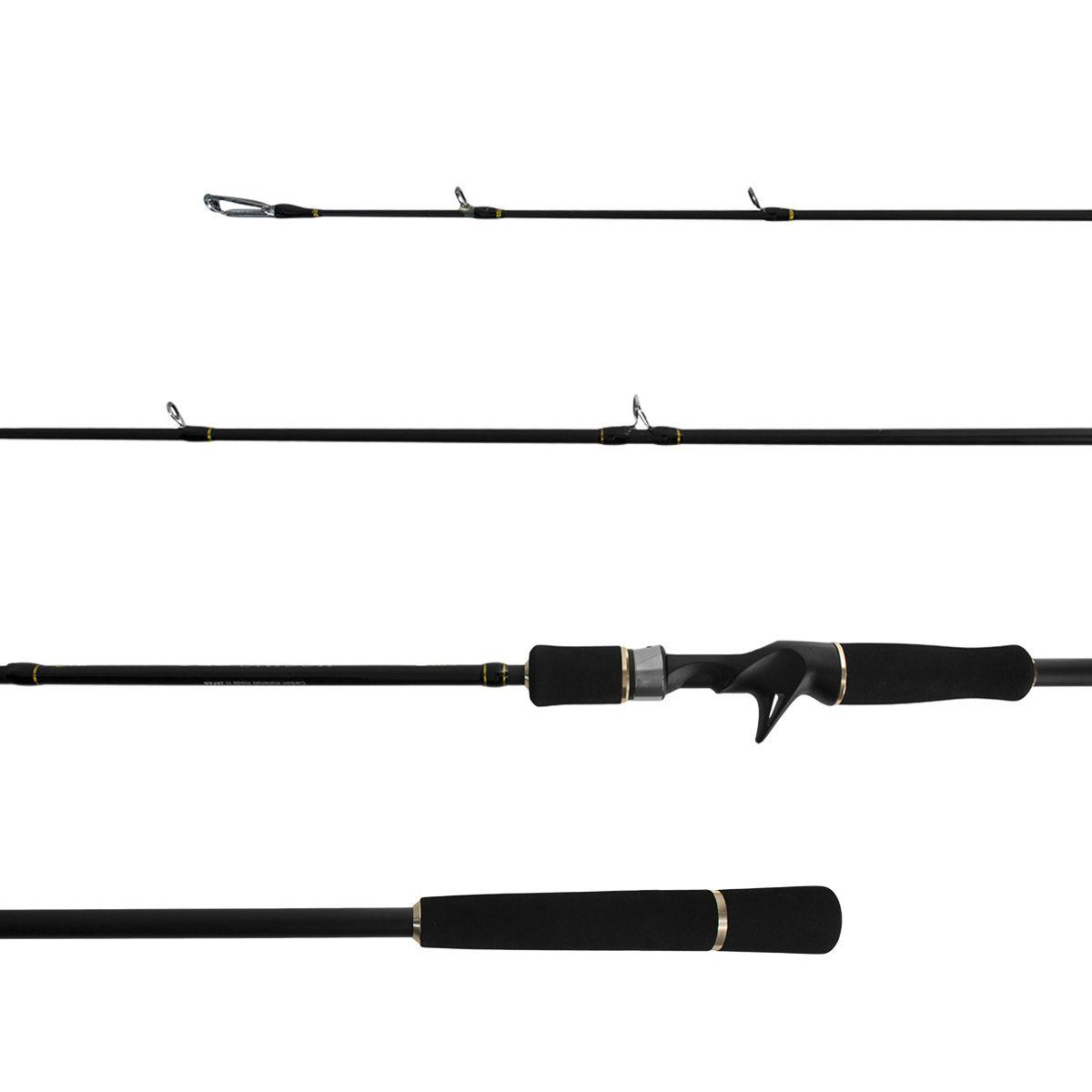 Vara Carretilha Jigging Pro IM6 1.83m PE 2-4 2 partes Lumis