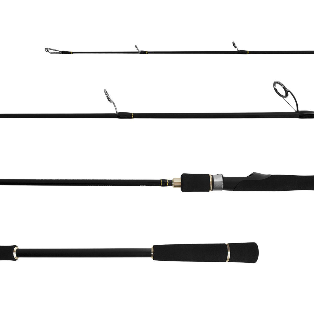 Vara Molinete Jigging Pro IM6 1,92M PE 2-4 2 Partes Lumis