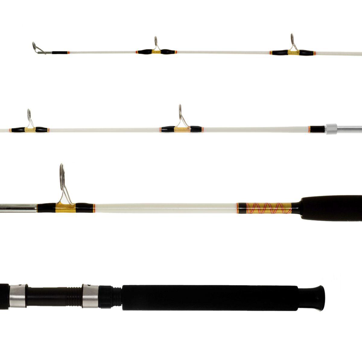 Vara Molinete Samurai 1,95m 20-40lb 2 Partes Lumis