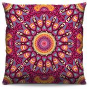 Almofada Estampada Colorida Classic Mandalas 157