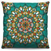 Almofada Estampada Colorida Classic Mandalas 314