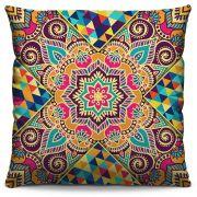 Almofada Estampada Colorida Classic Mandalas 318